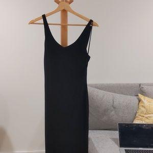 Alice and olivia mini black dress